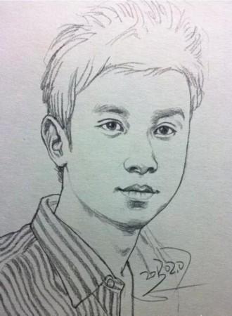 baby杨幂周杰伦明星肖像手绘 画得像吗?