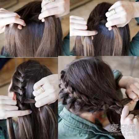 蜈蚣辫是在麻花辫编发的基础上再通过从旁边加入头发的方式进行编制