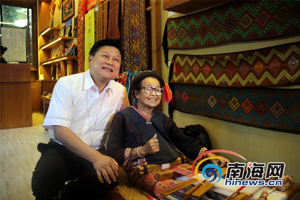台湾花莲县参访团到访海南槟榔谷感受黎苗风韵