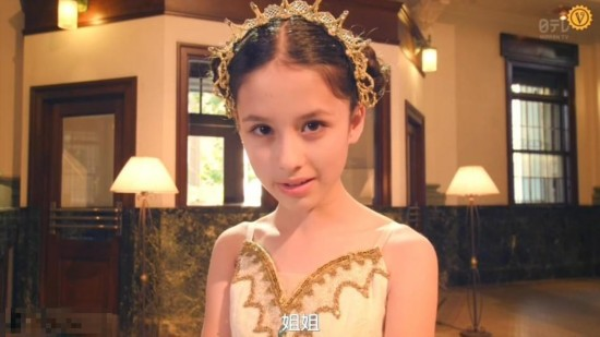 日俄混血小萝莉网络爆红 和Angelababy太像了图片