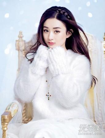 跟赵丽颖学减龄半扎发 做冬日小公主