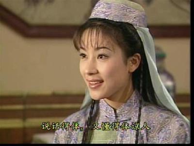 杨怡于《再生缘》中饰演孟丽君(叶璇饰演)的丫鬟苏映雪,性格分明,敢图片