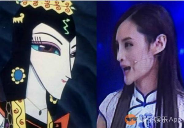 """又见蛇精脸!""""中国第一美腿车模""""近照曝光 网友直呼""""犁"""
