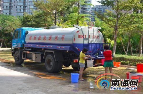 三亚冬季供水缺口达3-4万吨/天有小区已停水3天