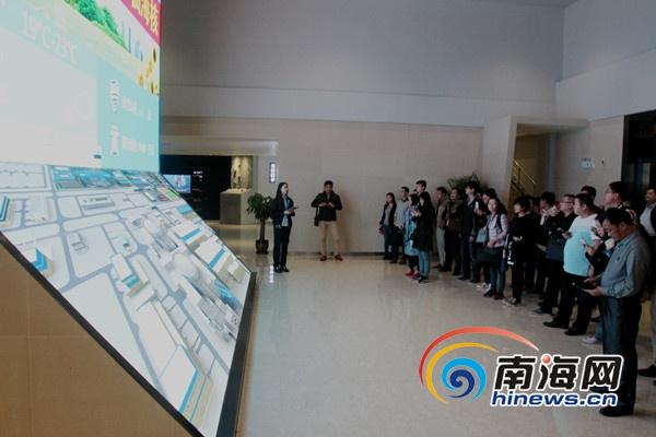 海南核安全文化媒体参观昌江核电厂多角度宣传核安全