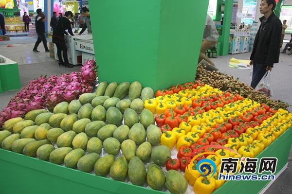 记者探营海南冬交会:航天蔬菜、美味瓜果等你来淘