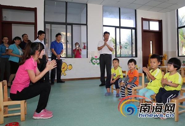 中国最南端学校三沙市永兴学校启用6名孩子配6个老师