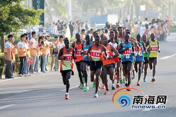 儋州国际马拉松赛20日开赛18国选手与逾万人参加