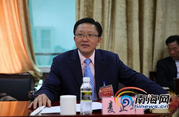 """陵水县委十三届六次全会代表热议""""十三五""""规划"""