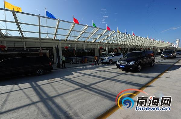 三亚凤凰国际机场T2航站楼投入运营候车楼和机场无缝衔接