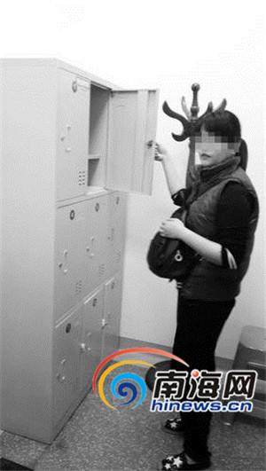 海口CT室失踪谜团!女子称5万元财物被偷柜锁却完好