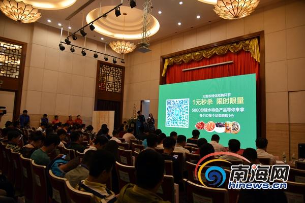 """陵水特产网三大平台上线""""互联网+""""助力农业新发展"""