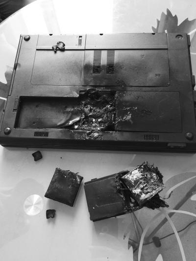 <b>三亚男子网购笔记本电脑充电时爆炸起火扑灭后再次爆炸</b>