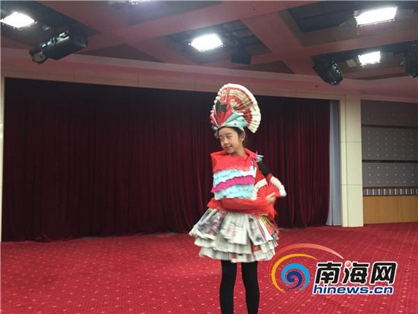 """""""海南宝宝""""网络春晚彩排 街舞,t台秀大受好评图片"""