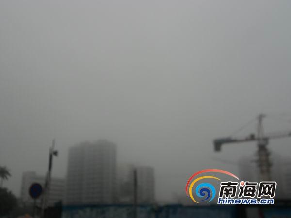 海南今年首发寒冷四级预警或为本世纪最强冷空气