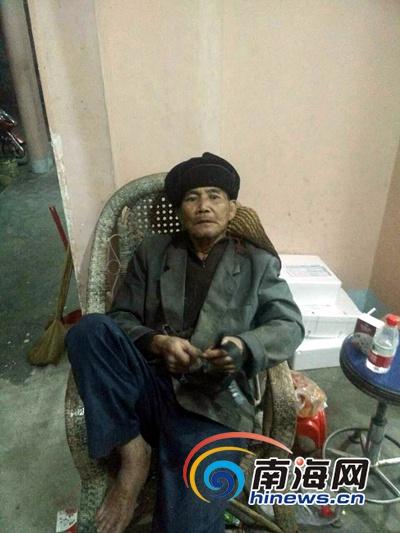 三亚海棠区干部微信爱心接力助八旬走失老人回家
