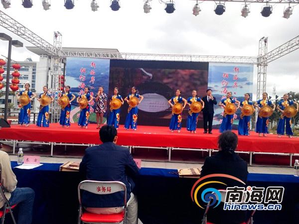 海南西部八市县抱团在儋州举行迎新春旅游推介会