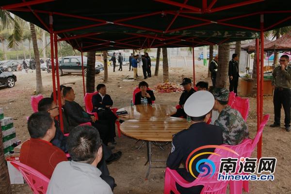 三亚崖州区600余名工作人员奋战一线确保春节旅游秩序