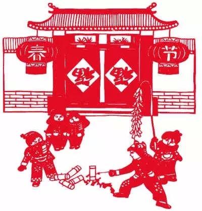 中国结剪纸图案及步骤