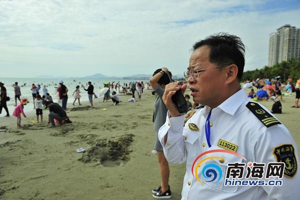 三亚海域守护人符文光:春节坚守岗位保海上平安