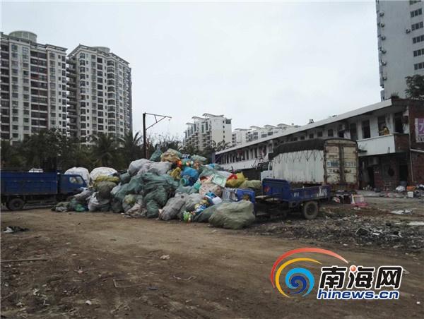 海口市民投诉福海新村废品站异味重回应:将迁移