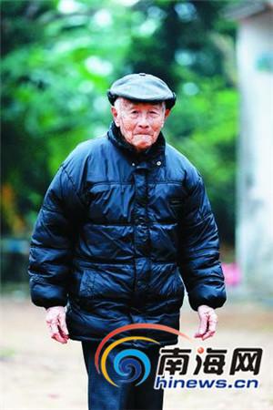 海南南侨机工仅剩98岁张修隆曾多次躲过敌机轰炸