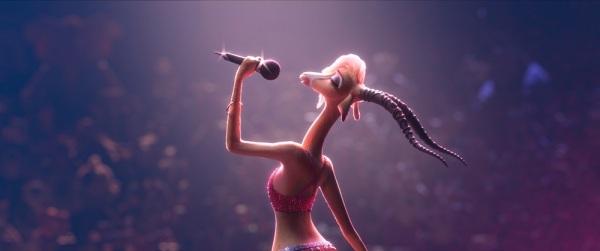 《疯狂动物城》剧照-夏奇羊歌声动人