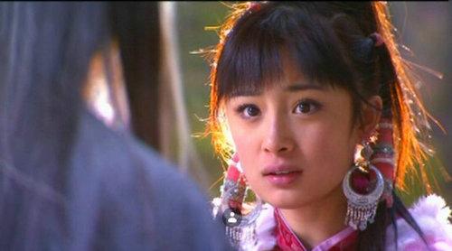 """2006年因出演《神雕侠侣》中""""小东邪""""郭襄而受到观众的关注.图片"""