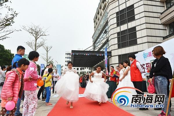 <b>海南现代妇女儿童医院办健康跑活动倡导关爱女性</b>