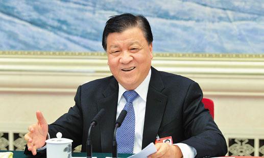 刘云山:全面建成小康社会 精神文明建设更显重要