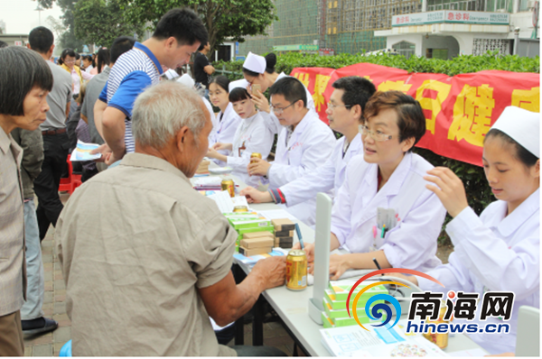 世界肾脏日:海南省人民医院免费为市民提供尿常规检查