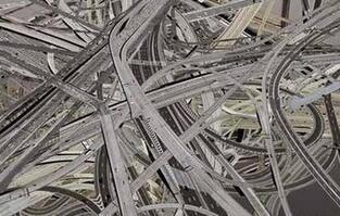 重庆最任性立交桥 5层15条匝道错综复杂 网友:设计师脑洞真大