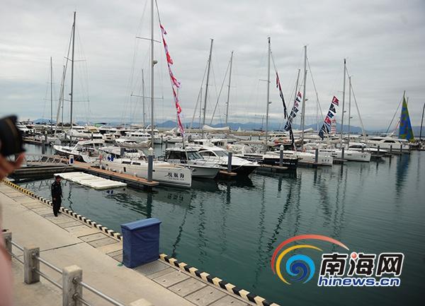海帆赛13日在三亚开赛33支船队350名船员参赛