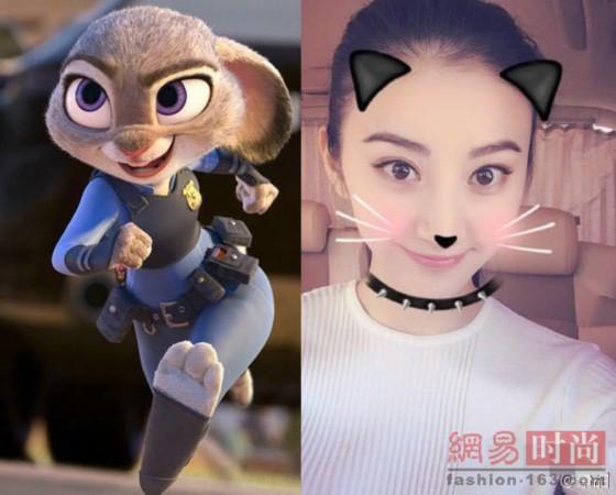 萌妹cos《疯狂动物城》朱迪兔警官 可爱吗?