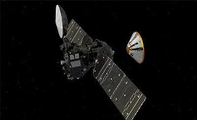 火星太空生物计划 据报道,这一轨道飞行器配有全套高科技设备,预计将于今年10月19日飞抵火星,行程长达4.96亿公里。它的主要任务是为这颗红色星球拍照,分析其大气层成分。 欧洲空间局11日在社交网站上说:火箭登场我们的火星太空生物2016项目已在发射坪上。 关键词:外星人火星太空生物计划火星太空生物太空生物