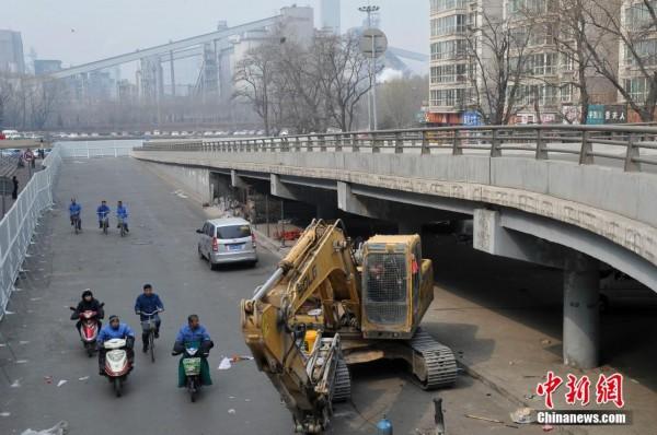 太原第一立交桥 服役 31年将拆除
