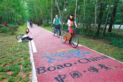 杭州旅游慢步绿道.张杰摄游玩天攻略2琼海图片
