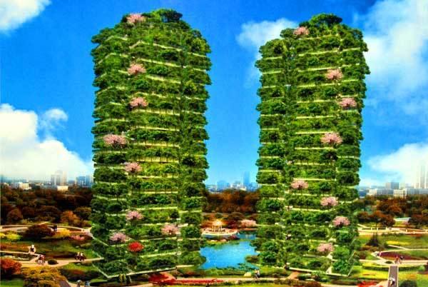 天九城市森林花园掀起人类居住革命