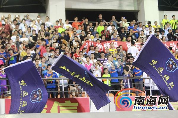 中国足协杯首轮开踢海口海汉队点球4:2险胜晋级