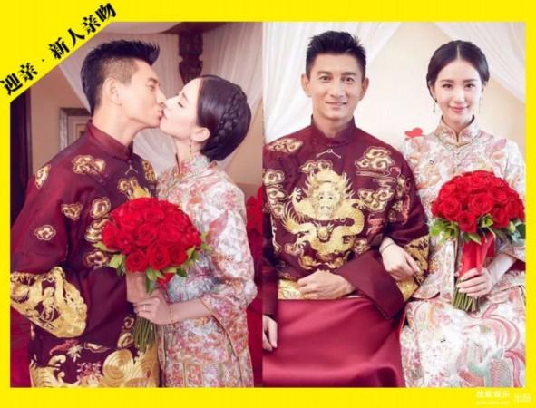 吳奇隆劉詩詩大婚的十個最美瞬間圖片