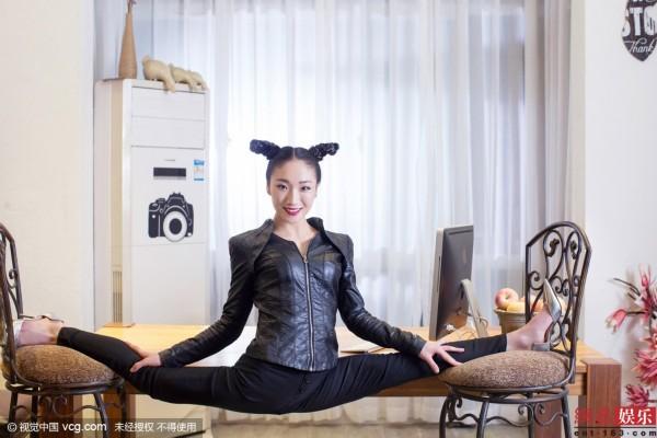 腰部宽度刘藤秀A4腰柔术女王仅21厘米情趣用品批发商吗赚钱图片