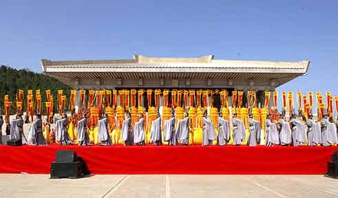 陕西今年清明公祭黄帝活动 将邀全国道德模范参祭