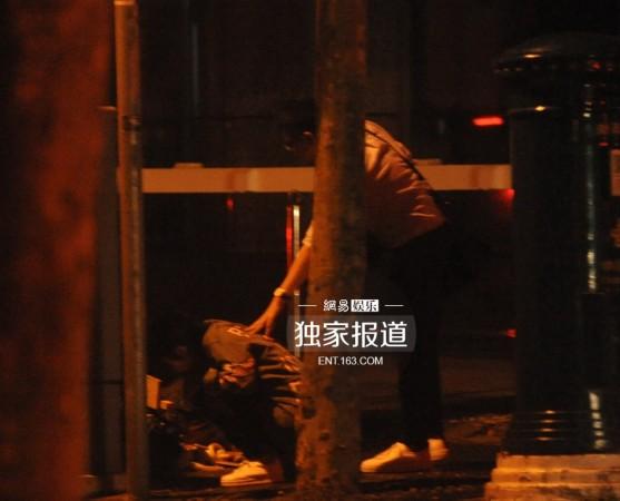 刘涛喝醉酒呕吐