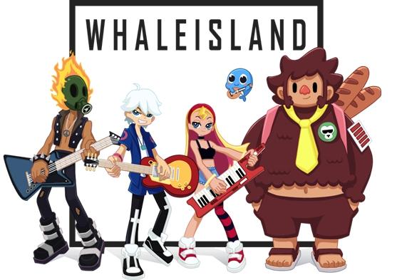 鲸鱼岛乐队两周年,新单曲《i