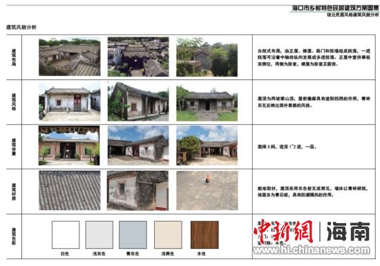 海口公布乡村特色民居建筑方案引导民居建设