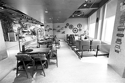 国安创客北京空间一层咖啡厅