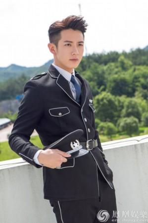 王立军设计的警服