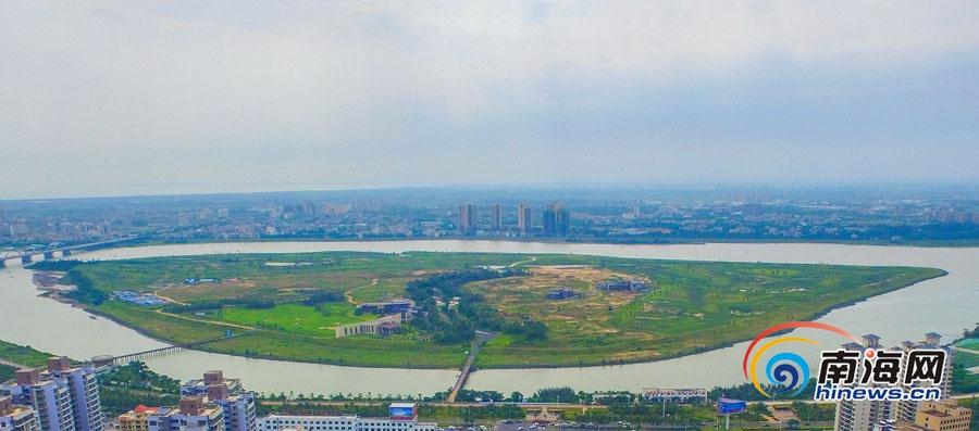 海口司马坡岛将建大型城市综合公园