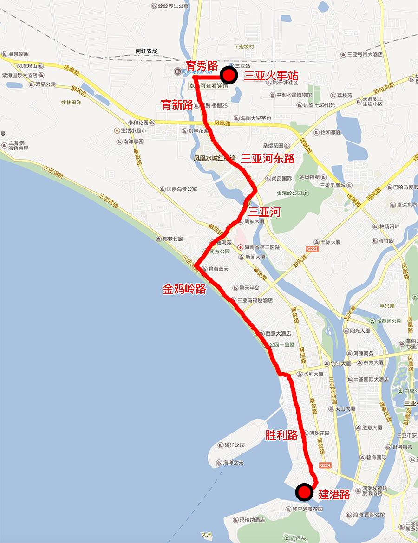 三亚6月底开建首条有轨电车示范线 全长8.37公里