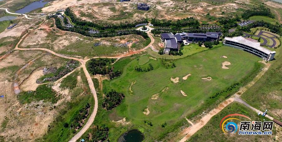 海口司马坡岛将建大型城市综合公园 将分三个部分规划